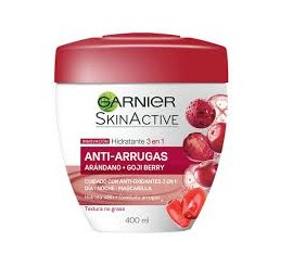 Crema Facial Garnier Antiarrugas 200ml