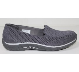 Zapatilla Skechers Relaxed Fit Gris