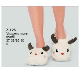 Slippers Mujer Marfil Lady Genny
