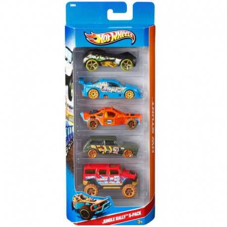 Hot Wheels Set 5 Autos