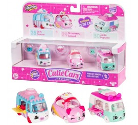 Shopkins Cuite Cars S1 pack 3