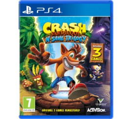 Juego Crash Bandicoot N-Sane Trilogy PS4