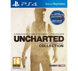Juego Uncharted The Nathan Drake Collection PS4
