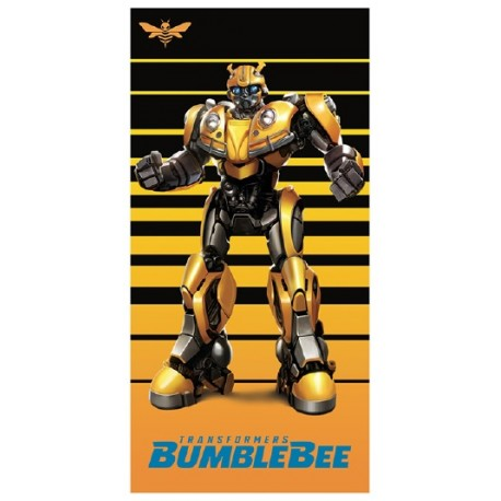 Toalla de Playa Transformers Bee 70x140