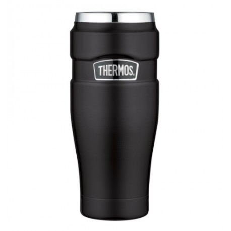 Thermo Mug Acero Inoxidable King 470ml Negro Thermos