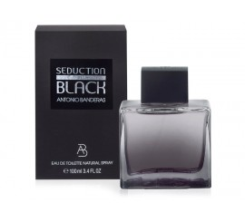 Perfume Seduction In Black Antonio Banderas 100ml Hombre