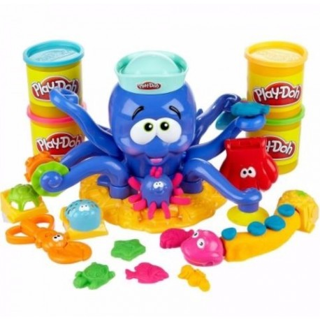 Octopus Play Doh