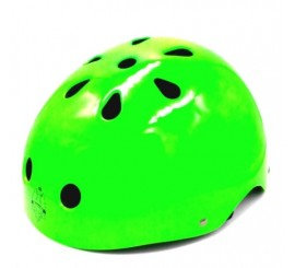 Casco Bianchi Bmx Regulable Verde Neón