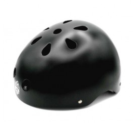 Casco Bianchi Bmx Regulable Negro