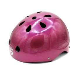Casco Bianchi Bmx Regulable Morado