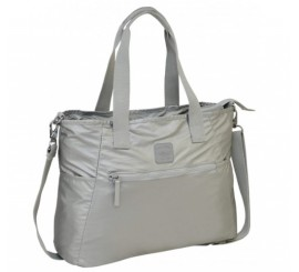 Cartera Prisma Metallic Plata Head