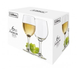 Set 6 Copas Arbor Vino 414ml Libbey