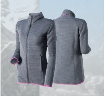 Poleron Pro Air Ostersund Charcoal Peak Performance Mujer