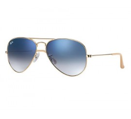 Lentes Ray Ban Aviador Degradado Azul RB3025/001/3F