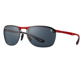 Lentes Ray Ban Scuderia Ferrari Collection Gris RB4302M/F62387