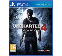 Juego Uncharted 4 A Thief's End PS4