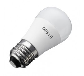 Ampolleta E27 E1-A60 Source 9W Fría 6500K Opple Led