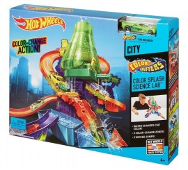 Pista Color Shifters Laboratorio Hot Wheels